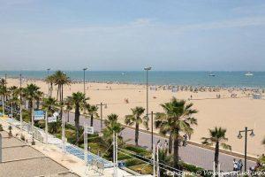 Playa la Malvarrosa Valence
