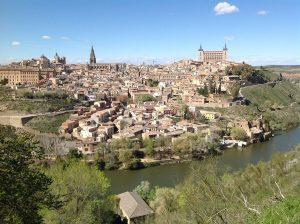 Voir Tolède depuis le mirador del Valle