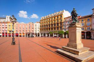 Parcourir le centre historique de Burgos