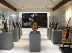 Se rendre au Museo de la Guitarra Española