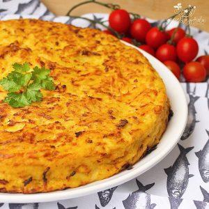 Tortillas de patatas plats espagnols typiques