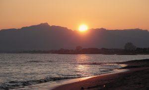 coucher du soleil Cambrils