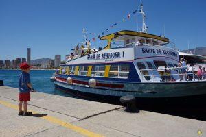 Excursion en bateau sur île de Benidorm
