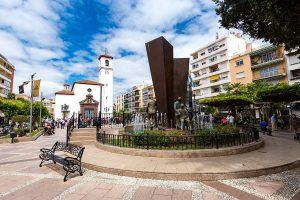 La place de la constitution Fuengirola