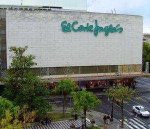 Corte Inglés plus anciens centres commerciaux de Séville
