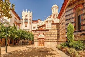 emblématique bâtisse Sant Roma Espagne