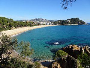 la Platja de Fenals Espagne