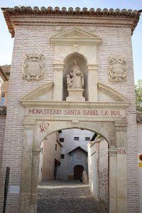 Couvent de Santa Isabel la Real monuments à Grenade