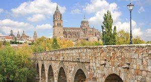 Puente romano monuments à Salamanque