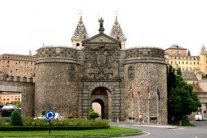 Puerta de Bisagra Tolède Espagne