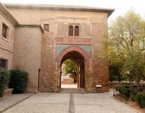 Puerta del Vino monuments à Grenade en Espagne