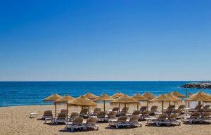 La plage de Cabopino Marbella