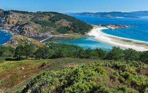Parc national des îles atlantiques de Galice tourisme nature espagne