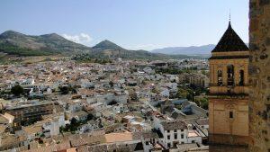 Alcaudete village à andalousie