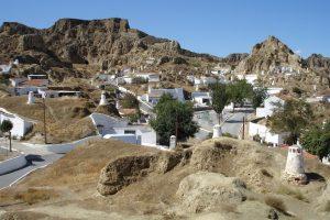 Guadrix village à andalousie