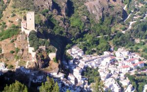 La Iruela village à andalousie