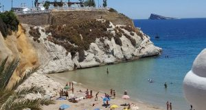 La Playa de CALA MAL PAS à Benidorm