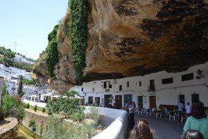 Setenil village à Andalousie
