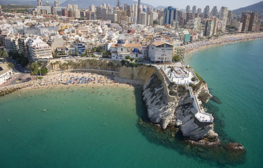 Top 6 belles plages de Benidorm en Espagne