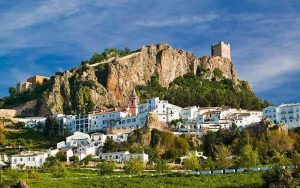 Zahara de la Sierra village à andalousie