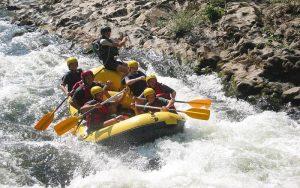 Rafting à Pampelune