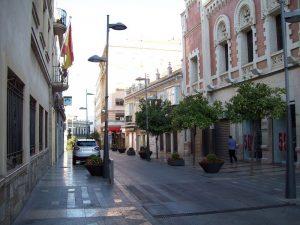 avenue Calle Camoens Street à Ceuta