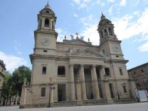 la cathédrale de Santa Maria la Real à Pampelune