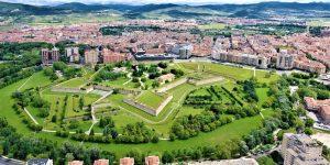 la citadelle à Pampelune