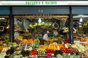 le marché central de Ceuta à Ceuta