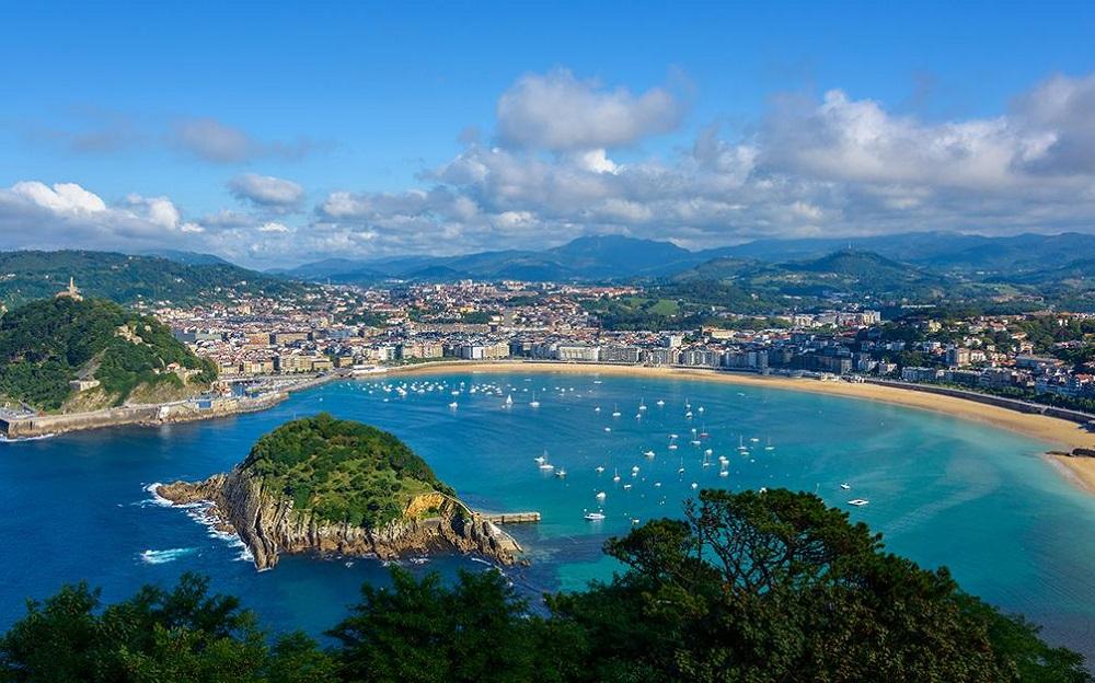 Top 4 plus belles plages de Saint Sebastien en Espagne