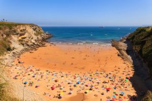 Playa de Mataleñas à Santander