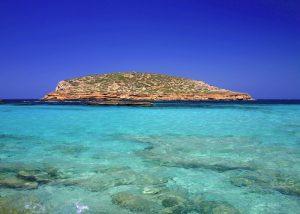 la plage de CALA CONTA ibiza