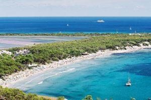 la plage de DE SES SALINES ibiza