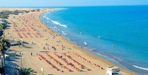 Playa del Inglés en Grande Canarie