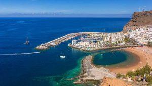 plage de Mogan en Gran Canaria