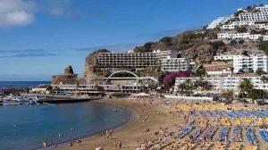 playa Puerto Rico Gran Canaria