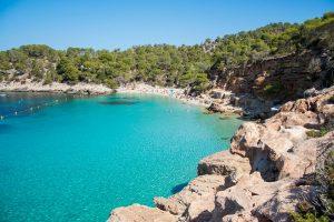 Cala Salada et Cala Saladeta, Ibiza