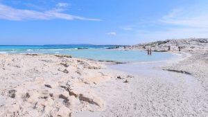Plage de Ses Illetes Formentera, Îles Baléares