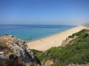 Plage de Zahara, Andalousie