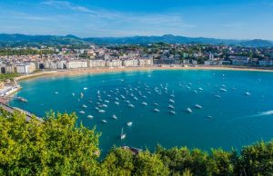 Playa de La Concha, San Sebastian, Pays Basque