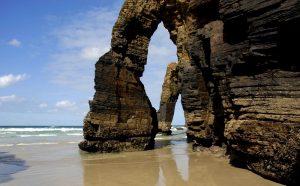 Playa de las Catedrales, Ribadeo, Galice