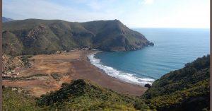 La plage d'El Gorguel