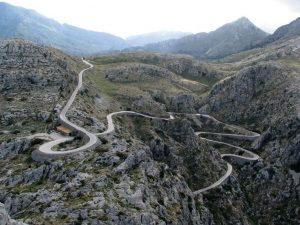 la route de Sa Calobra