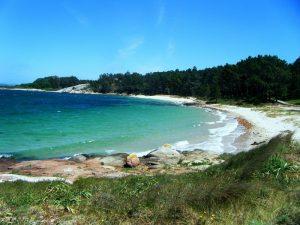 Plage Area de Secada (île d'Arousa)