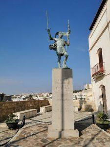 monument à Pedro de Estopiñán Melilla