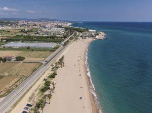 La plage de Santa Susanna