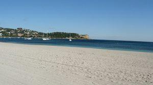 La plage de Talamanca ibiza