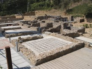 la Villa romaine Els Ametllers à Tossa De Mar