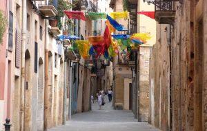 la vieille ville de Tarragone