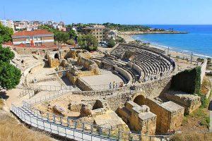 l'amphithéâtre romain à tarragone